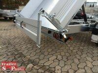 Pongratz 3-SKS 4100/20 T-AL 3500 - 3 Seitenkipper mit E-Pumpe - Alu Wände