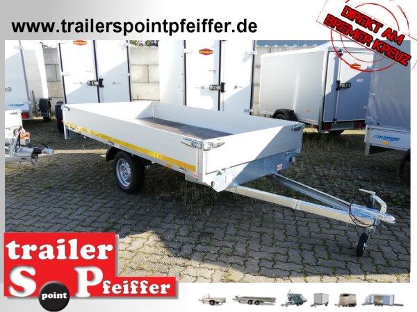 Eduard 750 KG Hochlader - Ungebremste Einacher - 3.1x1.6m - Ladehöhe:72 cm - 155R13 - Bordwände 30cm