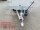 Eduard 2000 KG Rückwärtskipper - Gebremste Doppelachser - 2.6x1.5m - Ladehöhe:72 cm - 155R13 - Bordwände mit Kastenaufsatz