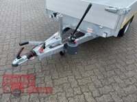 Eduard 1500 KG Heck Kipper - Gebremste Einzelachser - 2.6x1.5m - Ladehöhe:63 cm - 195/50R13 - Bordwände 30cm