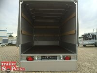 Eduard 1500 KG Multitransporter 330 x 180 - 1.500 kg - 195/55R10 mit Auffahrrampen und Hochplane