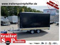 Eduard 2700 KG Hochlader - Gebremster Doppelachser -...