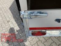 Eduard 2700 KG Hochlader - Gebremster Doppelachser - 4.0x2.0m - Ladehöhe:63 cm - 195/50R13 - Bordwände 30cm mit Hochplane SP-Line