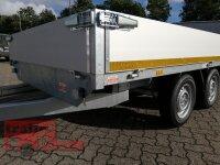 Eduard 2000 KG Hochlader - Gebremste Doppelachser - 3.3x1.8m - Ladehöhe:72 cm  - Bordwände 30cm