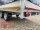 Eduard 2000 KG Hochlader - Gebremste Doppelachser - 3.3x1.8m - Ladehöhe:72 cm -  Bordwände 30cm mit Hochplane SP-Line