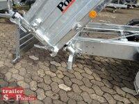 Pongratz 3-SKS 3600/17 T 3000 Stahlwände Tandem Dreiseitenkipper E-Pumpe