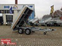 Eduard 2500 KG Kipper Heckkipper, Bordwände 30cm - 2500 kg - E-Pumpe - Lfh: 72cm