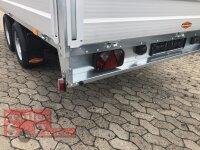 Böckmann HL-AL 4121/27 ( 18 )  Alu - Hochlader Anhänger mit Rampenschacht