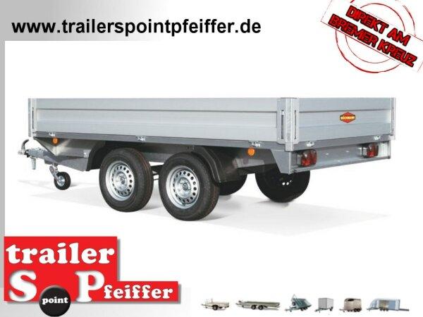 Böckmann HL-AL 5121/35 Alu - Hochlader Anhänger