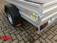 Böckmann TL-AL 2113/75 ALU Tieflader Anhänger - ungebremst