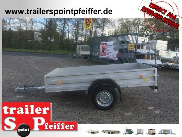 Böckmann TL-AL 2513/75 ALU Tieflader Anhänger - ungebremst