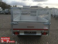 Eduard 2500 KG Heckkipper, Bordwände 30cm - 2500kg - E-Pumpe - Lfh: 72cm - Laubgitter