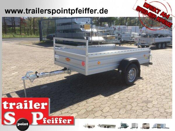 Böckmann TL-AL 2513/75 ALU Profi Paket Tieflader Anhänger - ungebremst