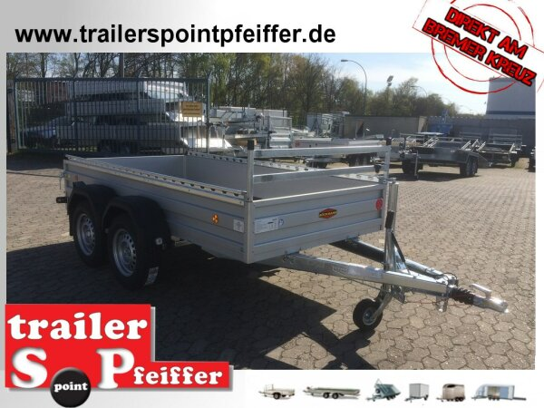 Böckmann TL-AL 3015/27 ALU Profi Paket  Tieflader Anhänger - Tandem gebremst