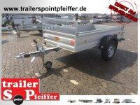 Böckmann TL-AL 2513/135 ALU Profi Paket - Tieflader Anhänger - gebremst