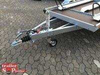 TPV TL-MB-P4 2er Motorrad - Paket - 1300 kg gebremst mit Standschienen und Rampe