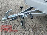TPV TL-EU2 Anhänger mit Flachplane 750 kg ungebremst - 100 KM/H - Zurrösen - 13 pol.