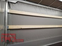 Eduard 2700 KG Multitransporter - Gebremste Doppelachser - 4.0x2.0m - Ladehöhe:63 cm - 195/50R13 - Auffahrschienen & Winde - Bordwände 30cm mit Hochplane SP Line