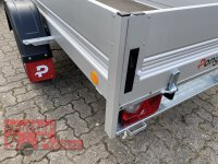 Pongratz LPA 250/13 G-AL STK 1300 kg  ALU Kastenanhänger gebremst