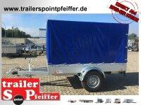 TPV TL-EB3 - 1300 kg gebremst Kastenanhänger mit...
