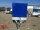 TPV TL-EB3 - 1300 kg gebremst Kastenanhänger mit Hochplane 150 cm