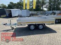 Eduard 2000 KG Hochlader - Gebremste Doppelachser - 3.1x1.6m - Ladehöhe:72 cm - 155R13 - Bordwände 30cm