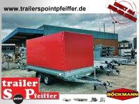 Böckmann HL-AL 4121/27 Alu - Hochlader Anhänger...