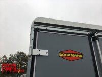 Böckmann KT 3015/20 M Kofferanhänger mit Zurrschienen / Sperrbalken und Reserverad