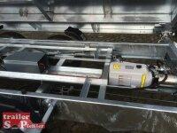Pongratz 3-SKS 3600/17 T-AL 3000 Tandem Dreiseitenkipper E-Pumpe Gitteraufsatz