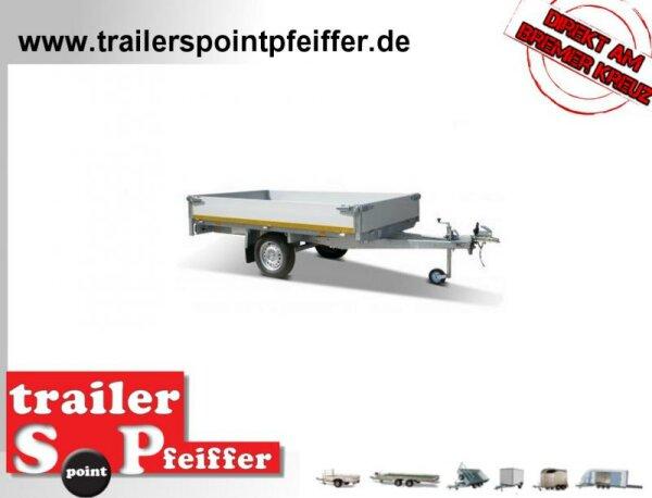 Eduard 750 KG Hochlader - Ungebremste Einacher - 2.6x1.5m - Ladehöhe:72 cm - 155R13 - Bordwände 30cm