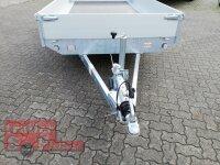 Eduard 2700 KG Hochlader - Gebremste Doppelachser - 3.3x1.8m - Ladehöhe:56 cm - 195/55R10 - Bordwände 30cm