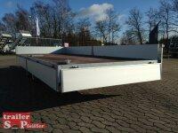 Eduard 3500 KG Hochlader - Gebremste Doppelachser - 5.0x2.0m - Ladehöhe:63 cm - 195/50R13 - Bordwände 30cm