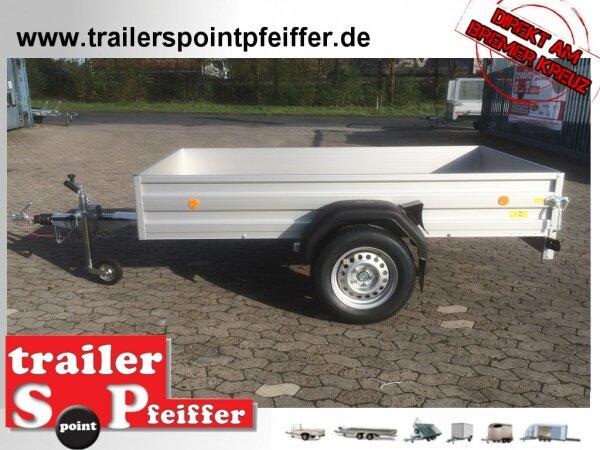 Böckmann TL-AL 2513/15 ALU Tieflader Anhänger - gebremst