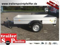 Böckmann TL-AL 2513/15 ALU Tieflader Anhänger -...