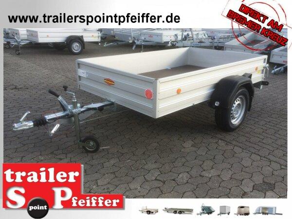 Böckmann TL-AL 2515/15 ALU Tieflader Anhänger - gebremst