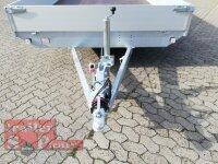 Eduard 3500 KG Hochlader - Gebremste Doppelachser - 6.0x2.2m - Ladehöhe:63 cm - 195/50R13 - Bordwände 30cm