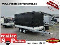 Böckmann HL-AL 4121/35 Alu - Hochlader Anhänger...