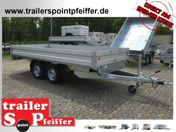 Böckmann HL-AL 4118/35 Alu - Hochlader Anhänger