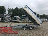 Eduard 3000 KG - 3 Seitenkipper -  Gebremster Doppelachser - 3.3x1.8m - Ladehöhe:63 cm - 195/50R13C - Vollausstattung !