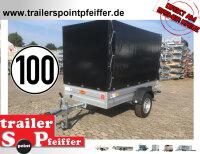 Böckmann TL-AL 2513/135 ALU Tieflader Anhänger...