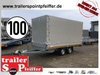 Eduard 2000 KG Hochlader 406 x 180 - 2.000 kg - 72 cm...