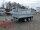 Pongratz 3-SKS 3100/17 T 3000 - Stahlwände Tandem Dreiseitenkipper E-Pumpe mit Gitteraufsatz