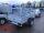 Böckmann TL-AL 2513/135 ALU Tieflader Anhänger - gebremst mit Gitteraufsatz