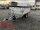Eduard 1500 KG Rückwärtskipper - Gebremste Einzelachser - 2.6x1.5m - Ladehöhe:63 cm - 195/50R13 - Bordwände 30cm mit 30 cm ALU Aufsatz - Flachplane - Heckstützen - 100 KM/H
