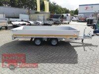 Eduard 2700 KG Hochlader - Gebremste Doppelachser - 3.1x1.6m - Ladehöhe:56 cm - 195/55R10 - 30 er Bordwände