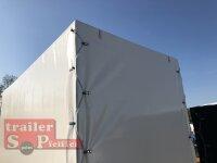 Eduard 750 KG Hochlader - ungebremste Einzelachser - 3.1x1.6m - Ladehöhe:72 cm - 155R13 - Bordwände 30cm Hochplane SP-Line