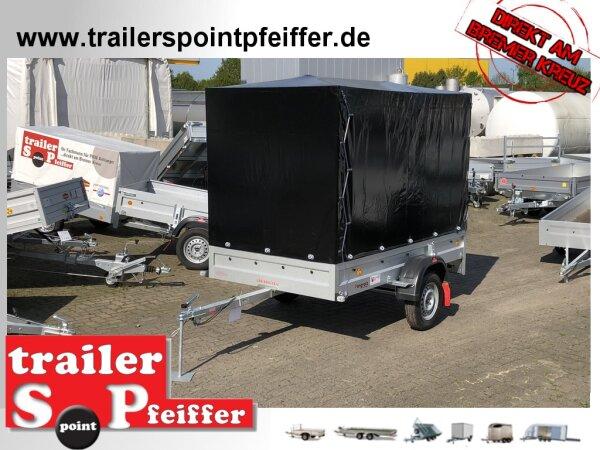 Pongratz LPA 250/13 U - Anhänger ungebremst Hochplane SP-Line - 100 KM/H