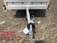 Pongratz LPA 250/13 G 1300 kg  Kastenanhänger gebremst - 72 cm Aufsatzwände