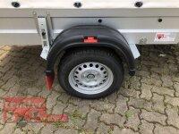 Pongratz LPA 250/13 G Anhänger mit Hochplane SP - Line und ÖKO Schräge und Rollo