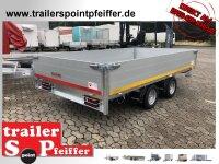 Eduard 3000 KG Hochlader - Gebremste Doppelachser -...